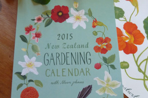 Illustrated 2015 New Zealand Gardening Calendar