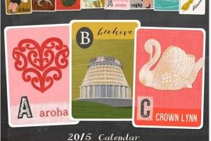 NZ Alphabet Calendar 2015