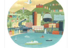 Wellington's 150th anniversary cards