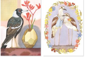 Henri Stone Australian bird cards