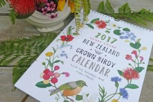 2017 Henri Stone NZ Gardening Calendar