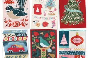 Wolfkamp & Stone 2016 Christmas cards.