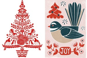 NZ Christmas note card packs