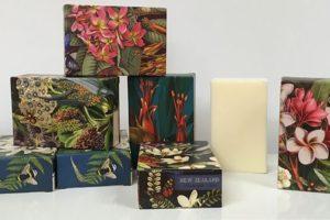 Tanya Wolfkamp NZ botanicals boxed soaps