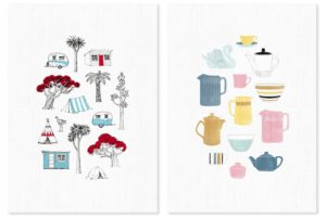 Wolfkamp & Stone Tea Towels