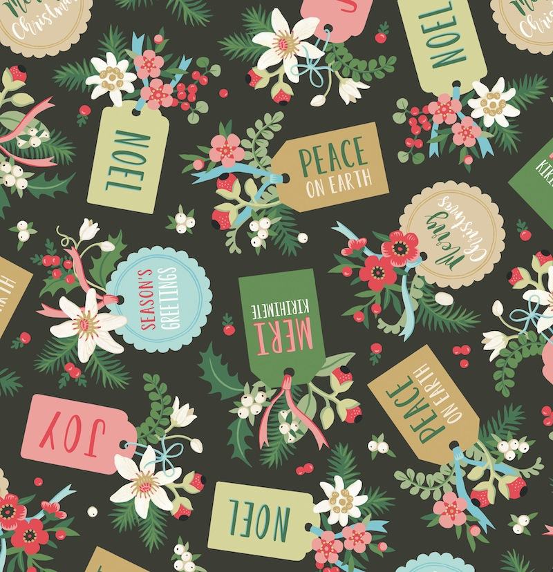 New Zealand Christmas gift wrap - Wolfkamp & Stone